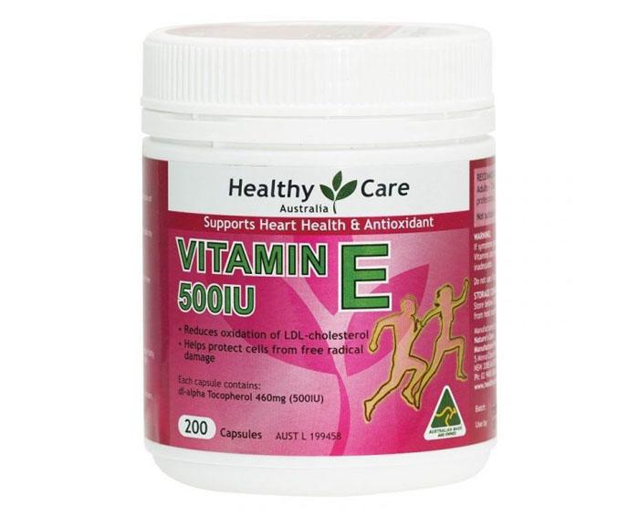 Image Thuốc Bổ Tim, Chống Lão Hóa Vitamin E 500IU