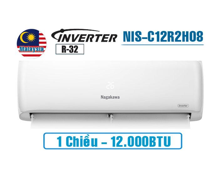Điều hòa Nagakawa inverter 12000BTU 1 chiều NIS-C12R2H08