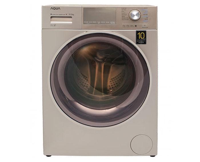 Máy giặt AQUA lồng ngang 8.5kg AQD-D850E.N