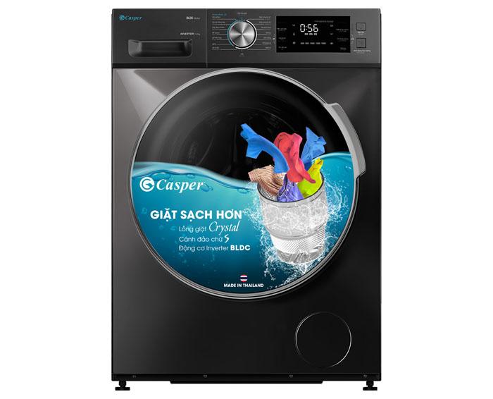 Image Máy giặt Casper Inverter cửa trước 10.5 kg WF-105I150BGB