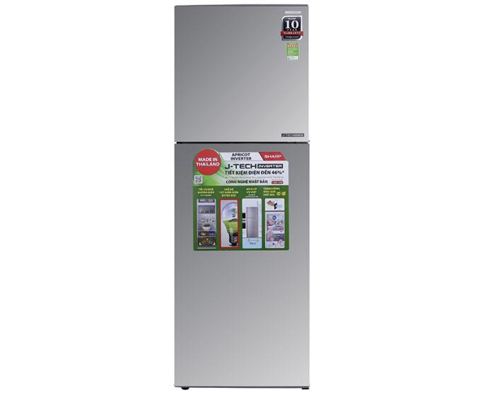 Image Tủ lạnh Sharp Inverter 241 lít SJ-X251E-SL