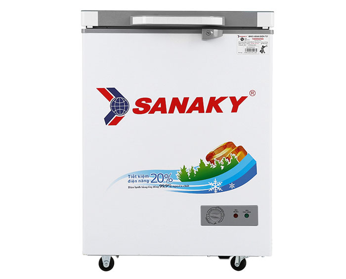 Image Tủ đông Sanaky 100 lít VH-1599HYK