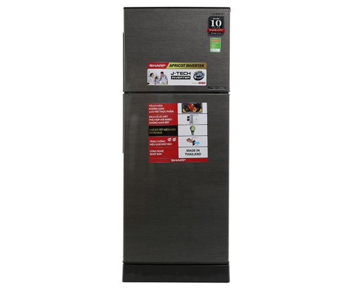 Image Tủ lạnh Sharp Inverter 196 lít SJ-X201E-DS